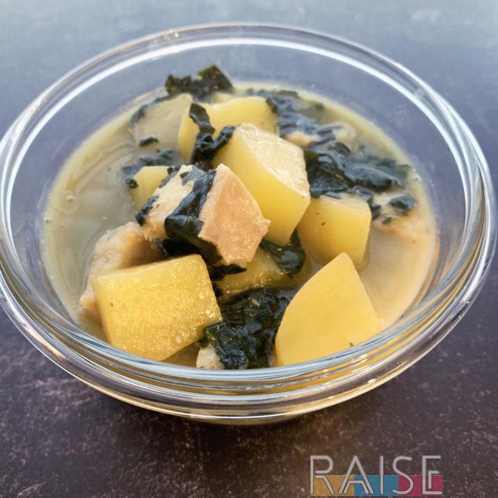 Corn Free Cod & Potato Soup by The Allergy Chef