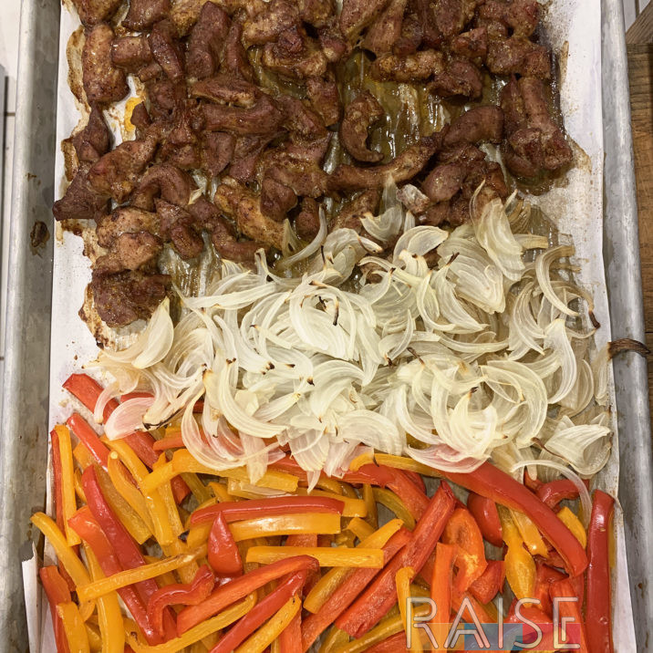 Easy Sheet Pan Fajitas by The Allergy Chef