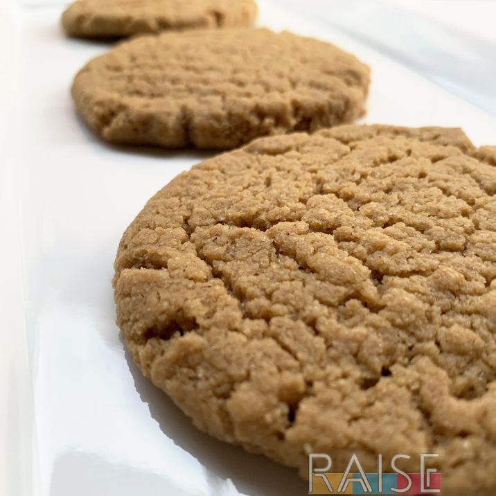 Peanut Free Peanut Butter Cookies by The Allergy Chef