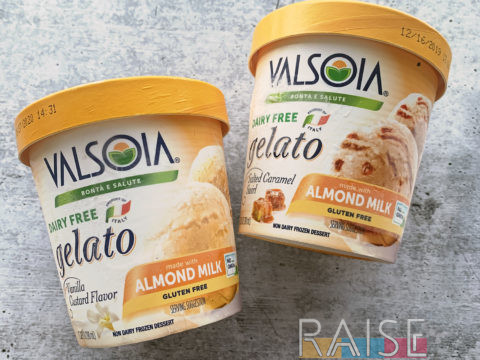 Valsoia Dairy Free Gelato by The Allergy Chef