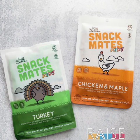 The New Primal Snack Mates Meat Sticks by The Allergy Chef