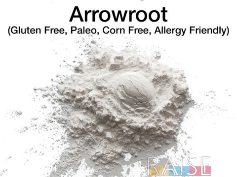 Gluten Free Arrowroot by The Allergy Chef