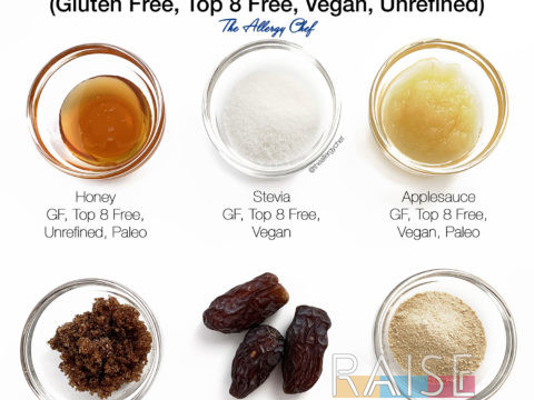 Sweeteners by The Allergy Chef