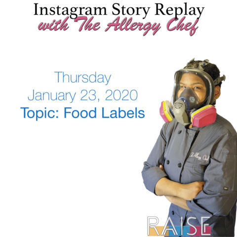 Talking About Food Labels with The Allergy Chef