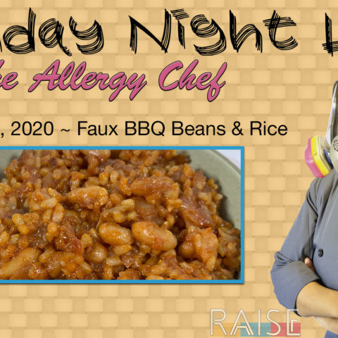 Monday Night Live Faux BBQ Beans & Rice