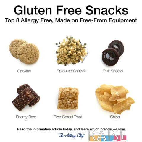 Top 8 Allergy Free Snacks by The Allergy Chef