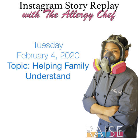 Talking About Helping Family Understand the Diagnosis with The Allergy Chef