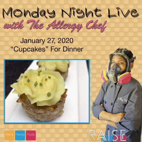 """Monday Night Live """"Cupcakes"""" For Dinner"""